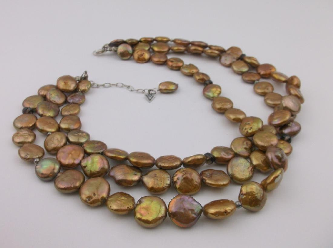 Silpada Sterling Silver Abalone Necklace Stunning