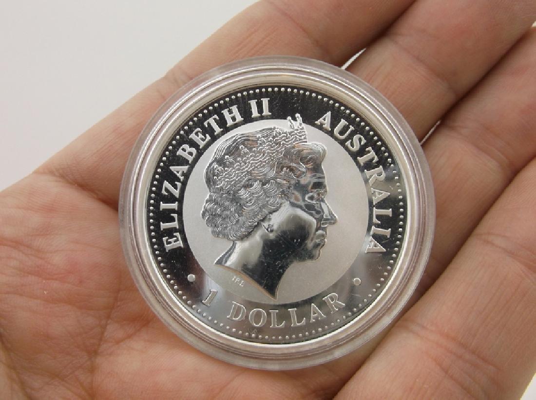 2006 Australian 1oz .999 Fine Silver Coin Kookaburra - 2