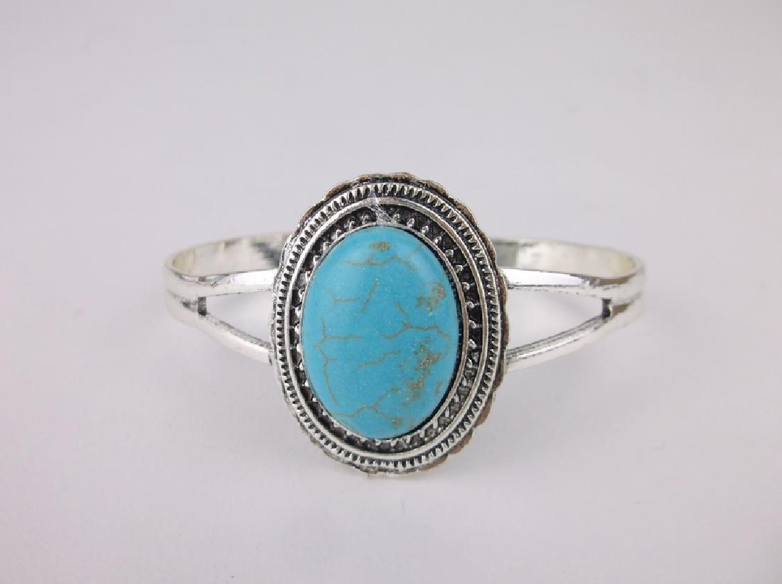 Stunning Southwestern Turquoise Cuff Bracelet