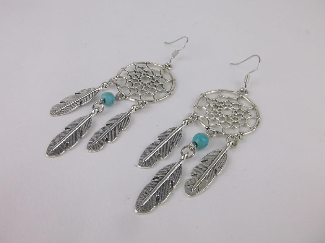 Stunning Southwestern Dream Catcher Earrings