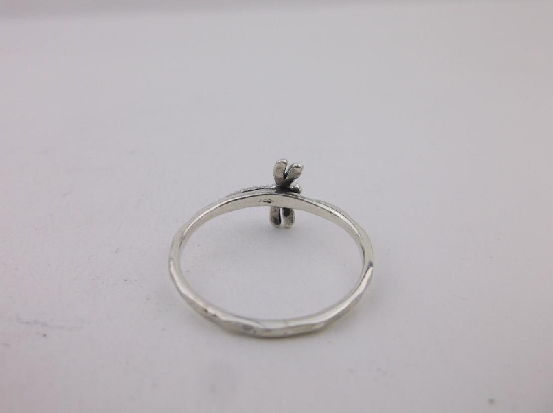 Stunning Sterling Silver Dragonfly Ring 7 - 2