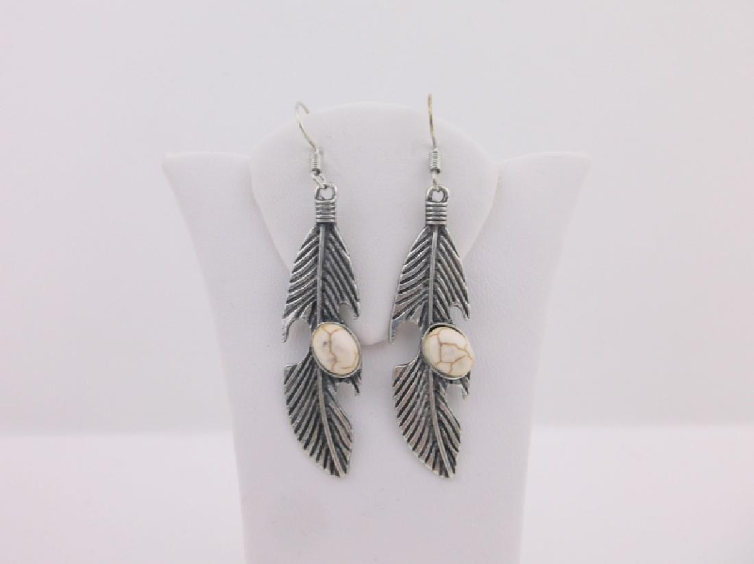 Stunning Southwestern Feather Earrings