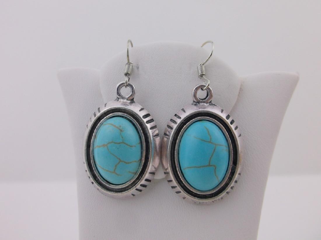 Stunning Southwestern Turquoise Earrings