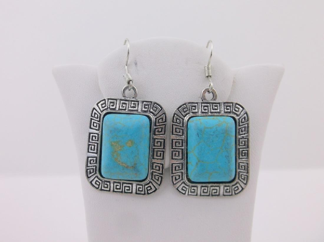 Stunning Southwestern Turquoise Earrings