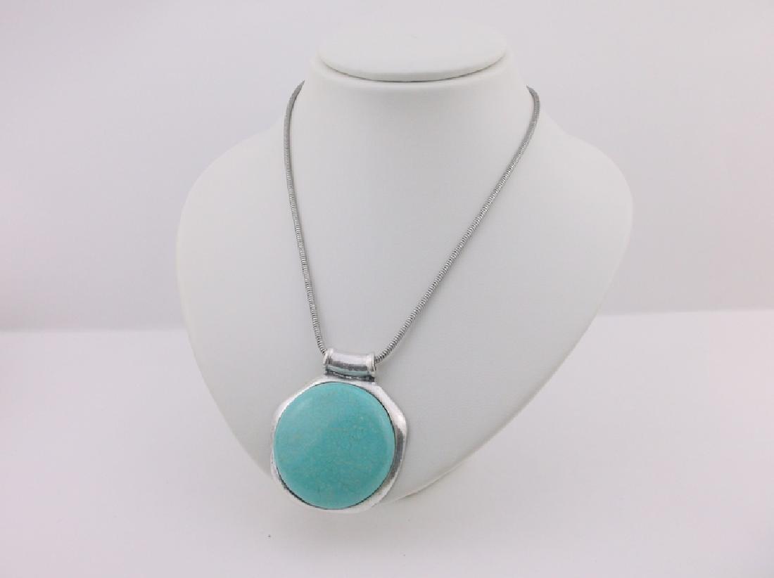 Stunning Southwestern Turquoise Necklace