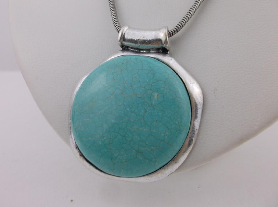 Stunning Southwestern Turquoise Necklace - 2