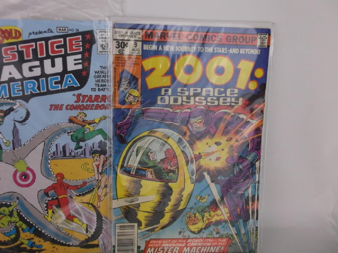 Lot of 8 DC & Marvel Comic Books 1950s & Up - 4