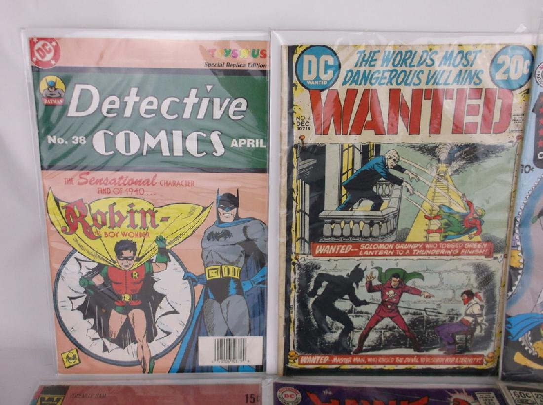 Lot of 8 DC & Marvel Comic Books 1950s & Up - 6