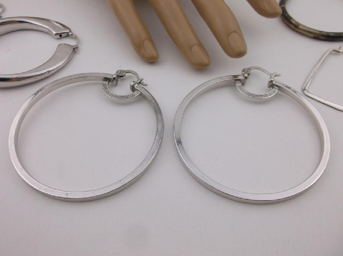 HUGE Lot of Sterling Silver Jewelry For Repair - 2