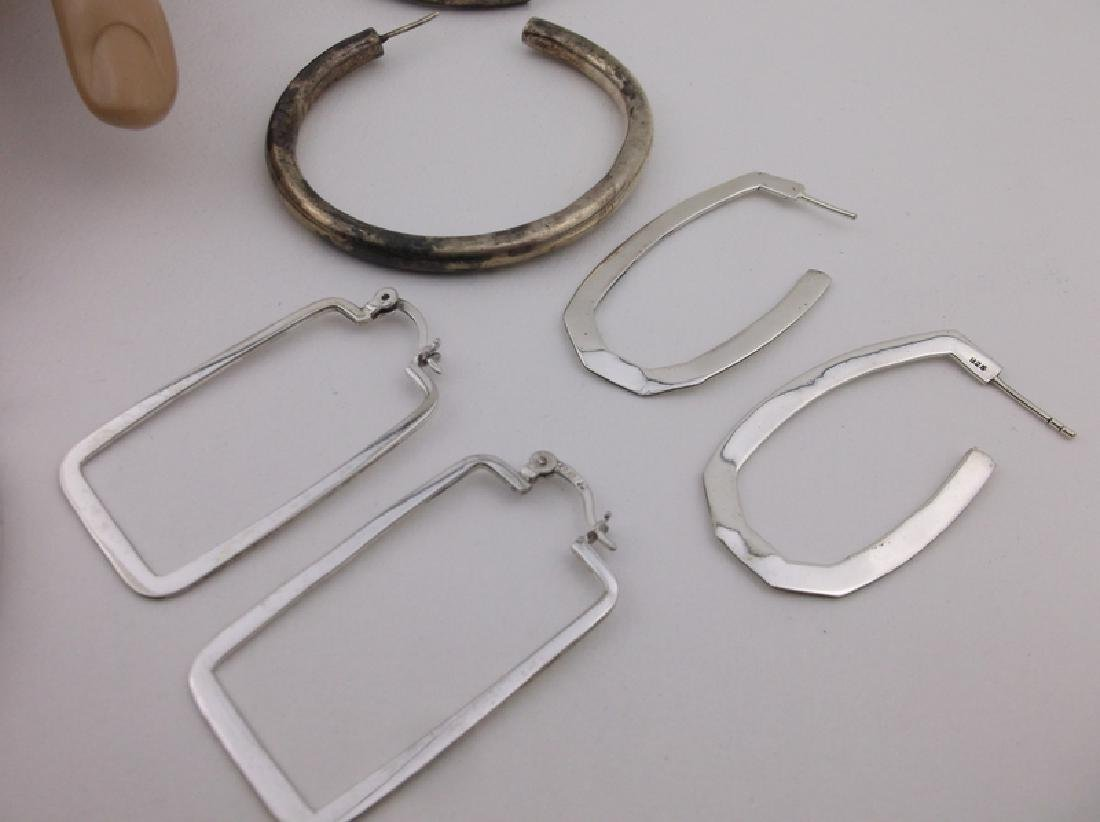 HUGE Lot of Sterling Silver Jewelry For Repair - 4