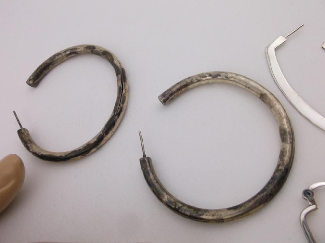 HUGE Lot of Sterling Silver Jewelry For Repair - 5