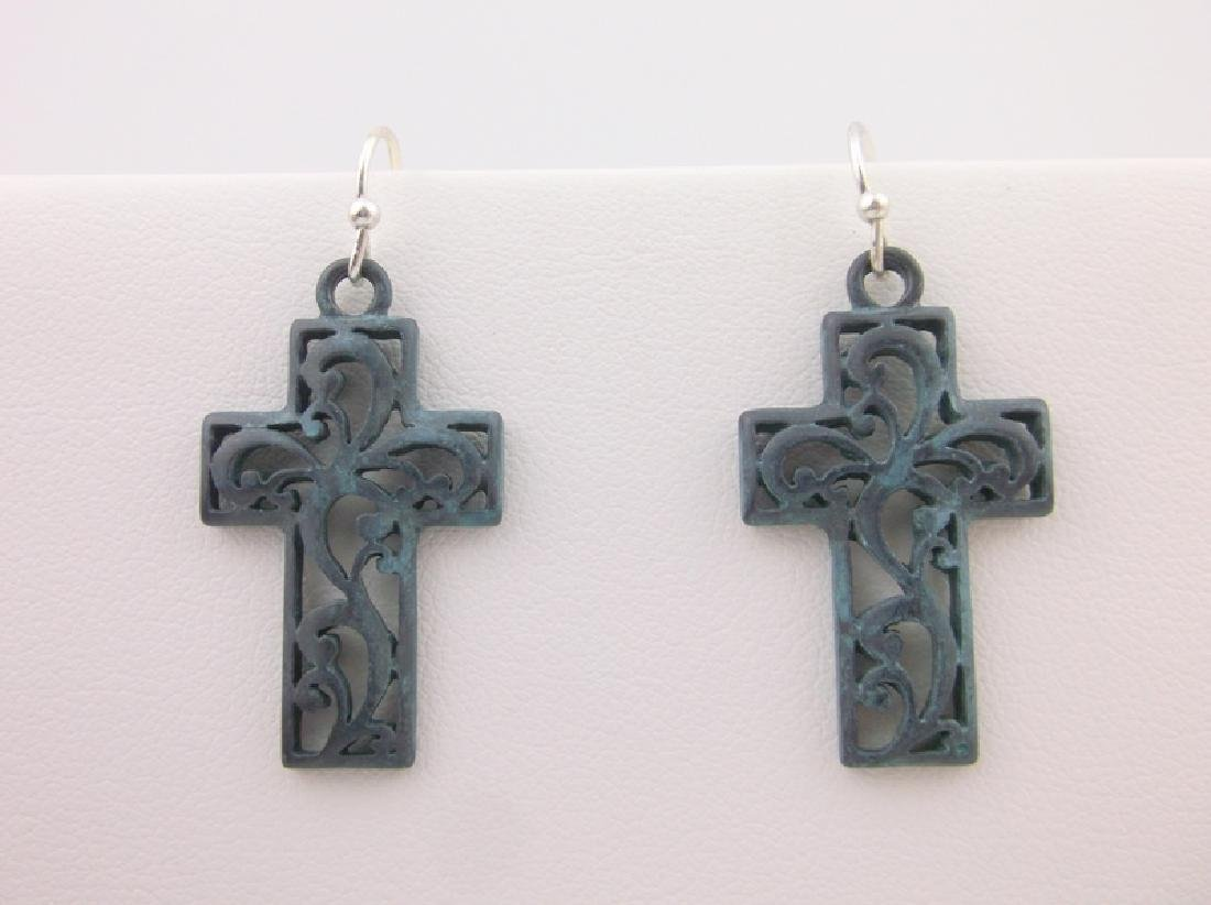 Stunning Cross Earrings