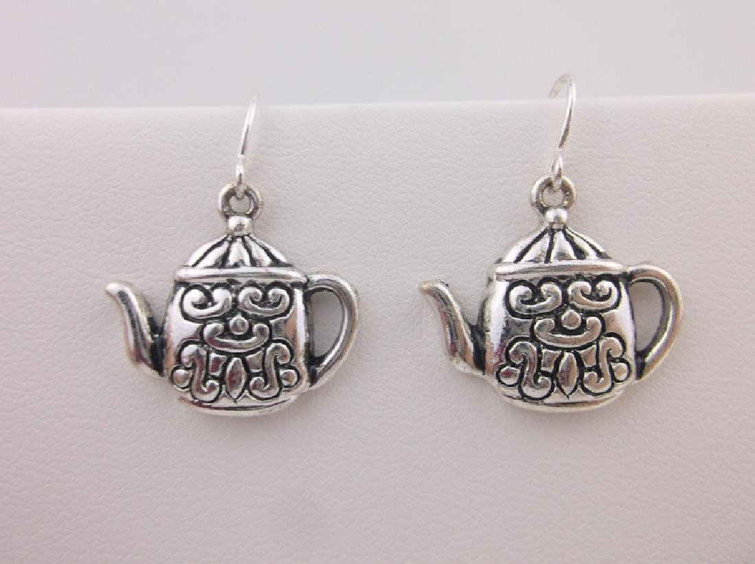 Stunning Teapot Earrings