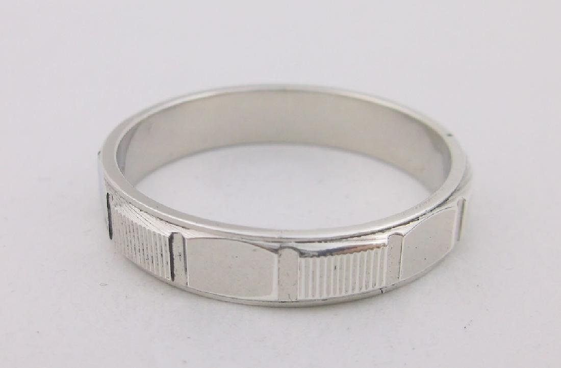 Stunning Sterling Silver Mens Band Ring 12