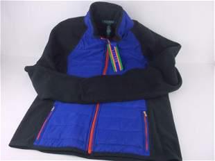 New NWT Ralph Lauren Womens Jacket L $109 Fleece