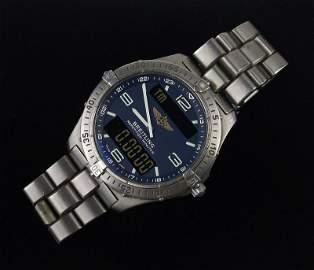 Breitling Aerospace Titanium Wristwatch Authentic