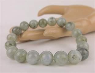 New Healing Genuine Labradorite Bracelet 10mm