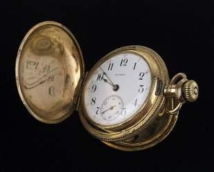 Stunning Early 1900s Illinois Pocket Watch 12kt GF