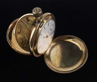 Stunning Early 1900s Elgin Pocket Watch 12kt GF