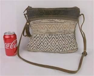Gorgeous Vintage Myra Bag Leather Handbag Purse