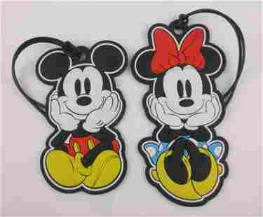 Mint Jerry Leigh Disney Mickey Minnie Mouse Tags Bag