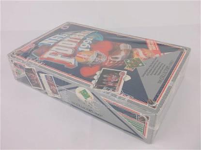 New Sealed 1991 Upper Deck Football Hobby Box Montana
