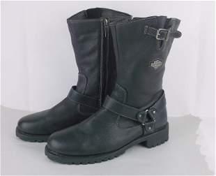 Stunning Mens Harley Davidson Leather Boots 11