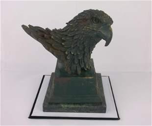 Wonderful Vintage Eagle Bronze on Marble