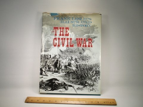 1977 Frank Leslies Civil War Book With Dust Jacket