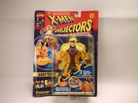Vintage 1994 X-Men Projectors Sabretooth Figure MOC