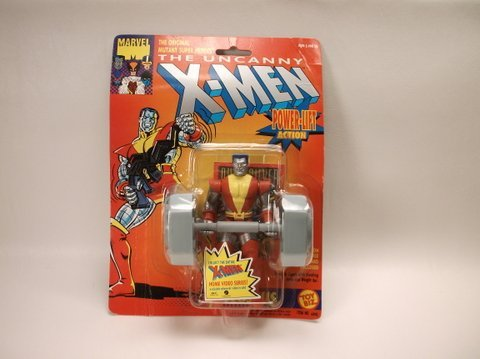 Vintage 1991 X-Men Colossus Action Figure MOC