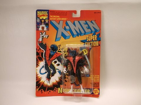 Vintage 1993 X-Men Nightcrawler Figure MOC