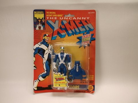 Vintage 1991 X-Men Cyclops Action Figure MOC