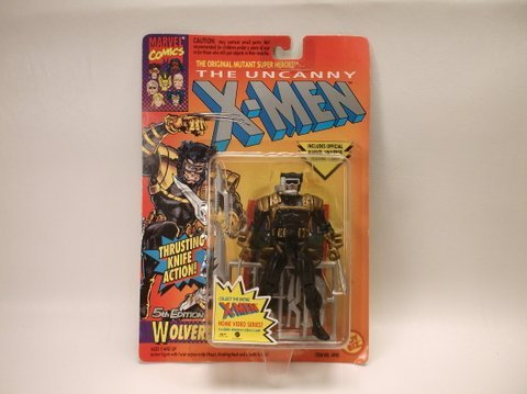 Vintage 1993 X-Men Wolverine Action Figure MOC