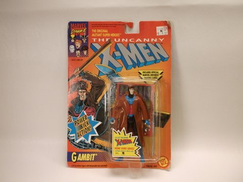 Vintage 1993 X-Men Gambit Action Figure MOC