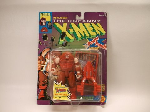 Vintage 1991 X-Men Juggernaut Figure MOC