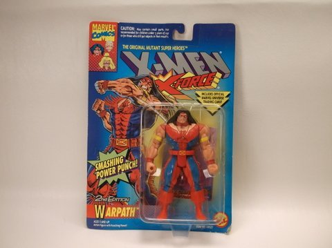 Vintage 1994 X-Men Warpath Figure MOC