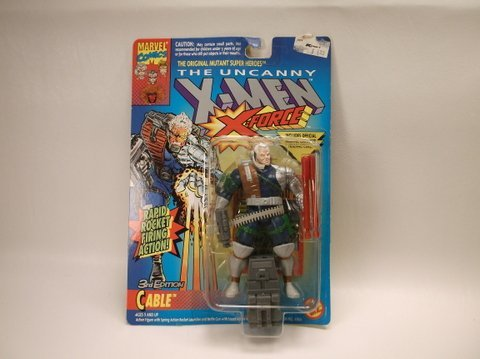Vintage 1993 X-Men Cable Action Figure MOC