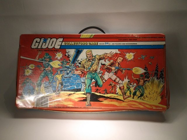 Vintage 1984 GI Joe Collectors Case