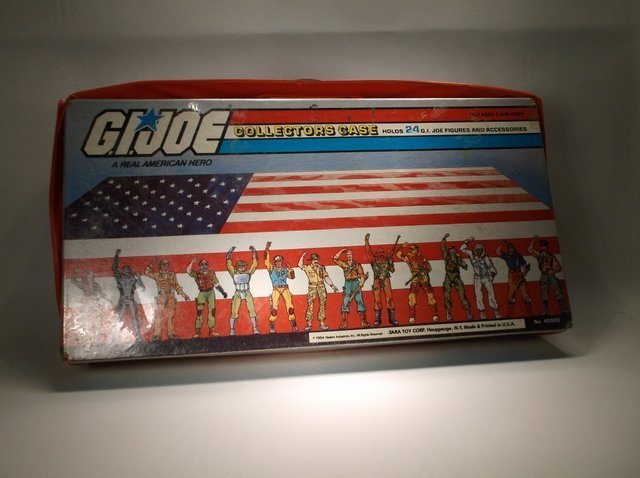 Vintage 1984 GI Joe Collectors Case - 3