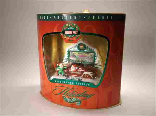 1999 Hot Wheels Christmas Holiday Set MISB Past