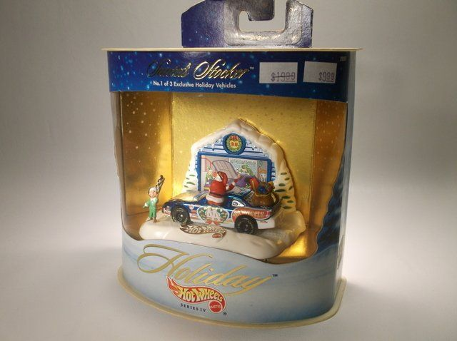 Hot Wheels Holiday Christmas Set MISB