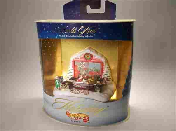 1998 Hot Wheels Christmas Holiday Set MISB