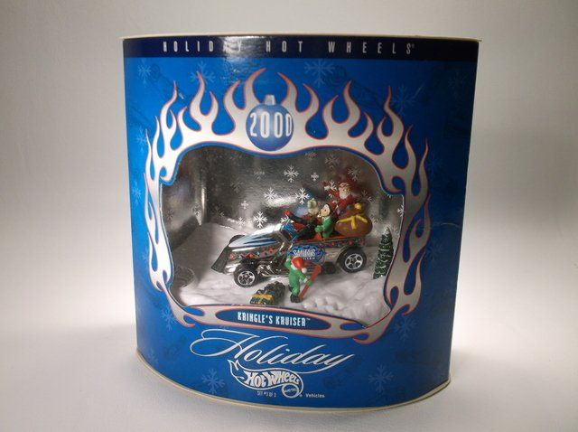 2000 Hot Wheels Christmas Holiday Set MISB