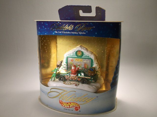1998 Hot Wheels Christmas Holiday Set MISB
