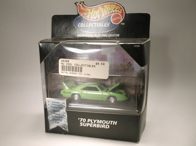 1998 Hot Wheels Plymouth Superbird LE MISB