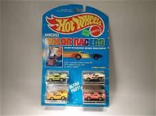 Vintage 1988 Hot Wheels Color Racers Micro Set MOC