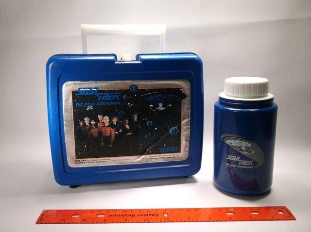 Vintage 1988 Star Trek Lunchbox & thermos