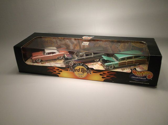 1998 Hot Wheels Hard Rock Café Set MISB