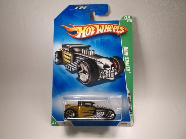 Hot Wheels Treasure Hunt Bone Crusher MOC